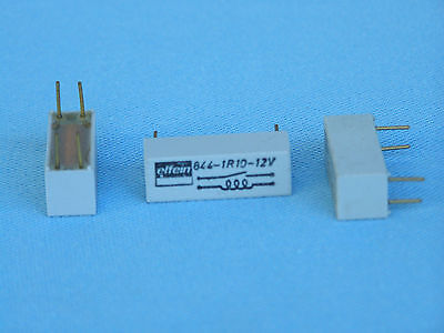 Elfein Reed Relay 844-1R10-12V - Package Of 5 Pcs