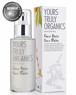 Yours Truly Organics Face Base Face Balm 100 ml ***Amazing Product*** Vegan