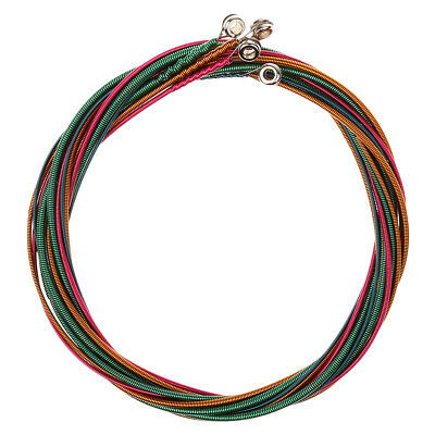 Set/4pcs Colorful Bass String G/D/A/E Nickel Alloy for Bass Guitar Accessory