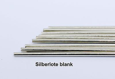 1 Rod Silver Solder 45% Brazing Alloys Cadmium-free Blacnk 2,0 x 500 mm at : 670