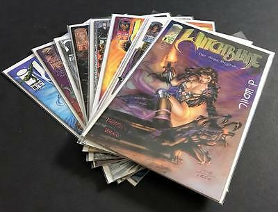 Witchblade 1-9 Lot (No #2)---#1 Signed and Numbered by David Wohl NM