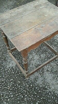 18th c oak table for restoration