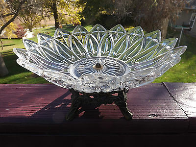 Compote Pedestal Glass Bowl