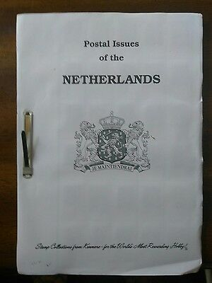 Netherlands stamp collection of mostly used 990 stamps