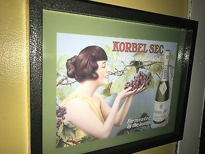 Korbel Champagne Wine Bar Tavern Pub Advertising Lighted Sign