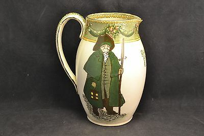 Royal Doulton Watchman-What of the Night? pitcher, 1902 ND3220