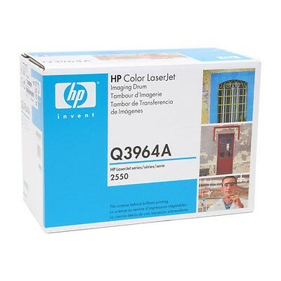 New Genuine Factory Sealed HP Q3964A Imaging Drum in the Bright Blue and Wht Box