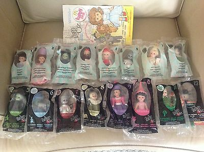 Wizard of Oz Lot Of 16 Sets ~ McDonald's Madame Alexander All In Plastic