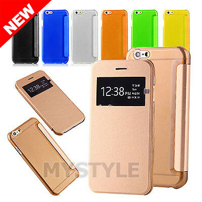 iPhone 6 6S Plus Ultra Slim Magnetic Flip Leather Case Cover for Apple