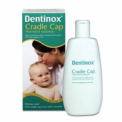 Dentinox Cradle Cap Treatment Shampoo BNIB 125ml