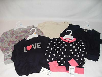 New Girls Osh Kosh B'gosh Assorted Sweaters - Sizes 2T-5 - NWT $28-44