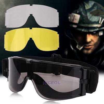 X800 Military Airsoft Tactical Goggles Sunglasses Glasses Army Paintball Goggles