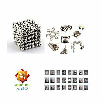 3mm/5mm 216pcs Magnetic Balls Magic Beads EDC Cube Sphere Magnet DIY 3D puzzle