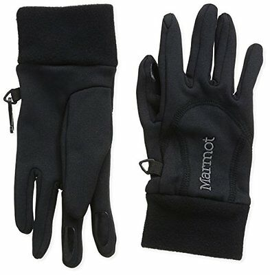 Marmot, Guanti Donna Power Stretch, Nero (Black), S (O4o)