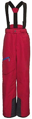 VAUDE, Pantaloni Bambino Paul, Rosso (Indian Red), 122/128 cm (Y7D)