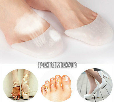 PEDIMEND Silicone Gel Ballet Pointe Shoe Pads with Breathable Hole - Foot Care