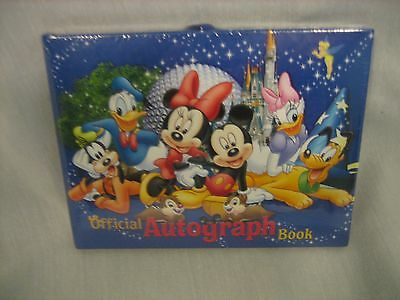 New Walt Disney World Official Autograph Book Sealed in Original Packing