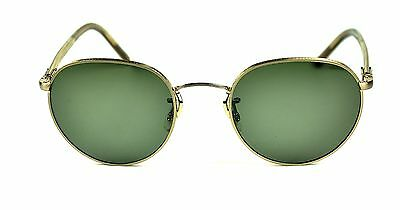 Oliver Peoples Hassett sunglasses Brushed gold / G-15 Polarized glass   new