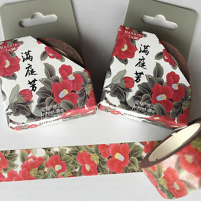 Washi Tape Mothers Day Floral 15Mm X 7Mtr Plan Craft Wrap Scrap