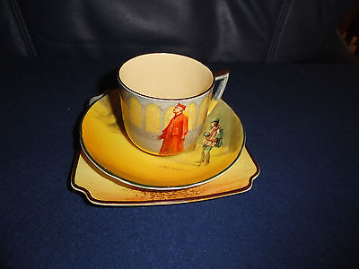 Royal Doulton Shakespeare Series - Trio - Cup [Wolsey] Saucer/Plate [Rosalind]