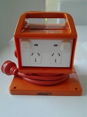 4 way 15 amp portable power outlet