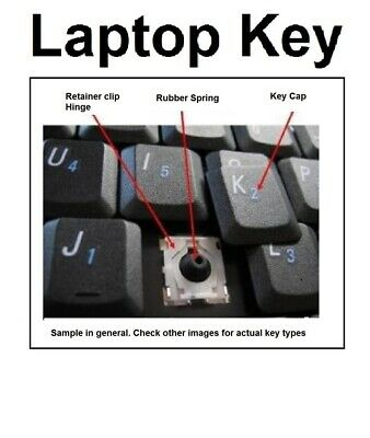 Toshiba Satellite L355D-S7815 Individual Keyboard Key Replacement V000140160