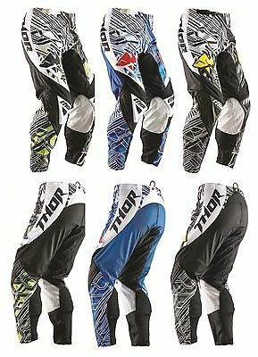 Thor fusion phase motorbike bmx pants green blue green boys 20 22 24 26 28 4-14