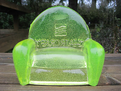 Vintage Chaircraft Glass Couch Advertising Vaseline Uranium Heavy Furniture Rare
