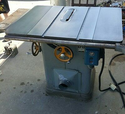 """Delta Rockwell 10"""" Unisaw Table Saw 2HP 3Ph 220V~LOCAL PICK-UP ONLY"""