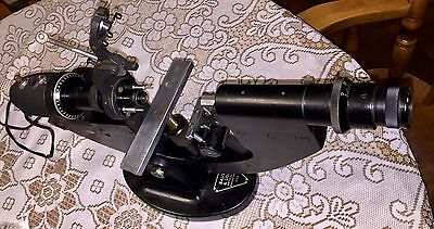 Bausch & Lomb Lensometer  Vertometer  21-61-90 Very Rare Antique Used