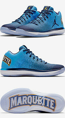 7b9aaf96f74 Nike Air Jordan 31 XXXI Low Marquette Golden Eagles PE Size 13. 897564-406 .