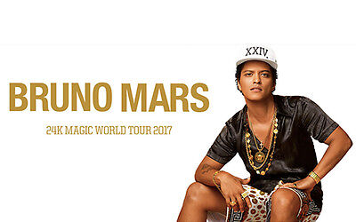 Bruno Mars 24k Magic Concert Melbourne 11th March 2018 (LAST ONE!!!!)