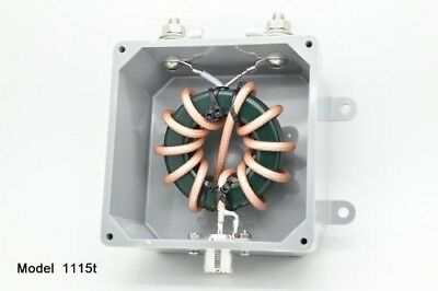Balun Designs mod. 1115de 1:1 1.5-54Mhz 5Kw - Max Choke - Eyebolts on Side