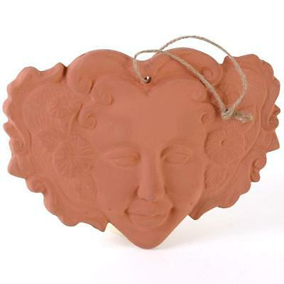 Lady of the Forest Terracotta Wall Hanging - Garden Ornament - Plaque Brand New