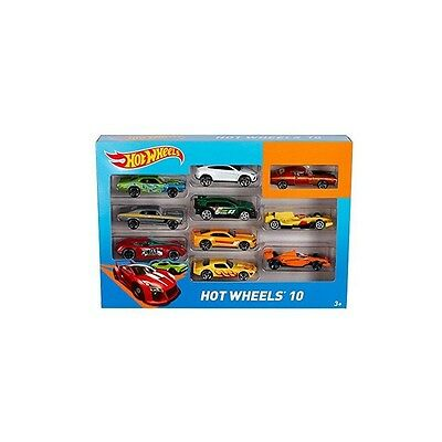 Mattel - Hot Wheels Pack 10 Vehículos