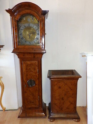 113 Inch  Baroque Granfather Clock With 3 Weights