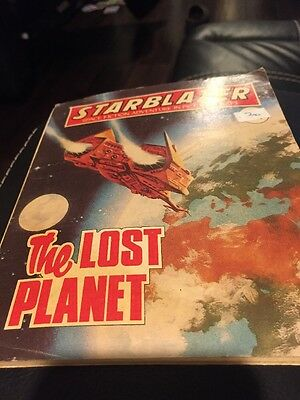 The Lost Planet,starblazer Space Fiction Adventure In Pictures,no.33,comic,1980