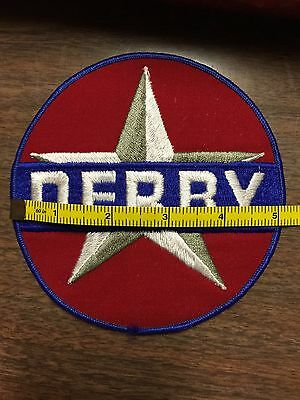 Vintage Derby Gas And Oil Advertising Patch