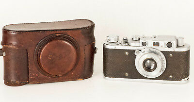 Fed 1 (B) Pe0210 Early Batch With Original Leather Case S.n. 29381. 1936.