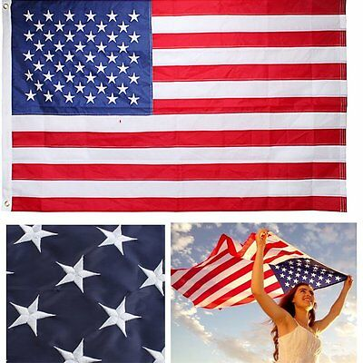 US American Flag Heavy Duty Printed Stars Stripes Unlimited Outdoor 3x5 ft