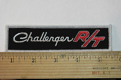 Challenger R/T Iron-on Embroidered Patch 5""