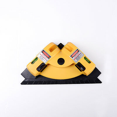 Vertical Horizontal Laser Line Projection Square Level Right Angle 90 Degree ZD