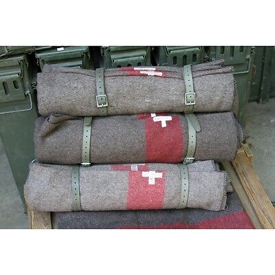 Swiss Army Reproduction 70 percent wool Blanket Weighs 4.8 pds Survival Winter