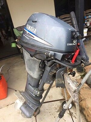 Yamaha 20 Hp Four Stroke Outboard Motor Serviced With Warranty Can Freight