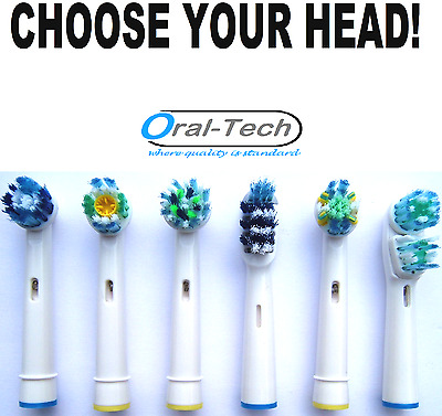 ORAL-B compatible electric toothbrush replacement Brush Heads CHOOSE OFF MENU