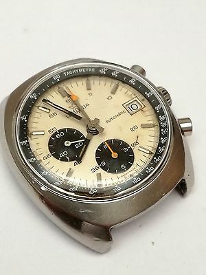 Very rare - Lemania Chronograph Gents Watch With Lemania 1341 Automatic Movement