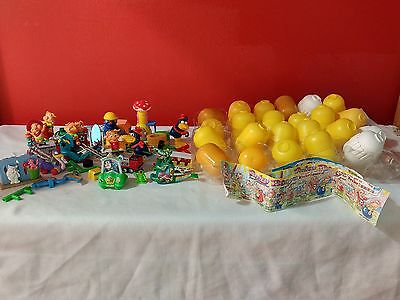 Ferrero Germany 28 Egg Toy Lot Kinder Uberrashung Pinky Piggys Miniature Dragon