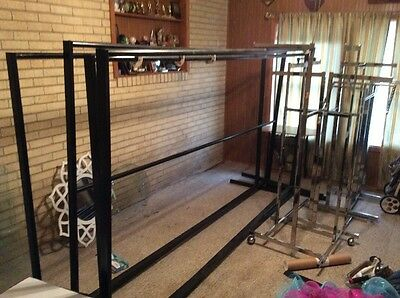 4 Commercial Clothing Racks Heavy Duty Retail Store