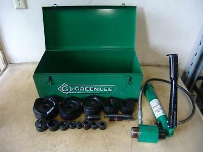 GREENLEE 7310 HYDRAULIC KNOCKOUT PUNCH AND DIE SET 1/2 to 4""