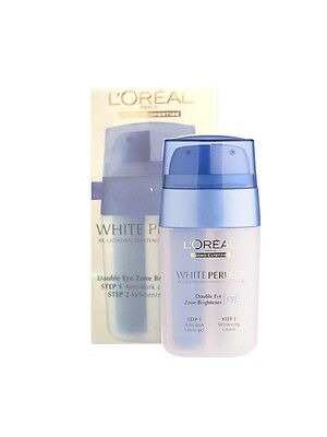 L'Oreal White Perfect Double Eye Zone Brightener Gel and Cream 2in1 15ml